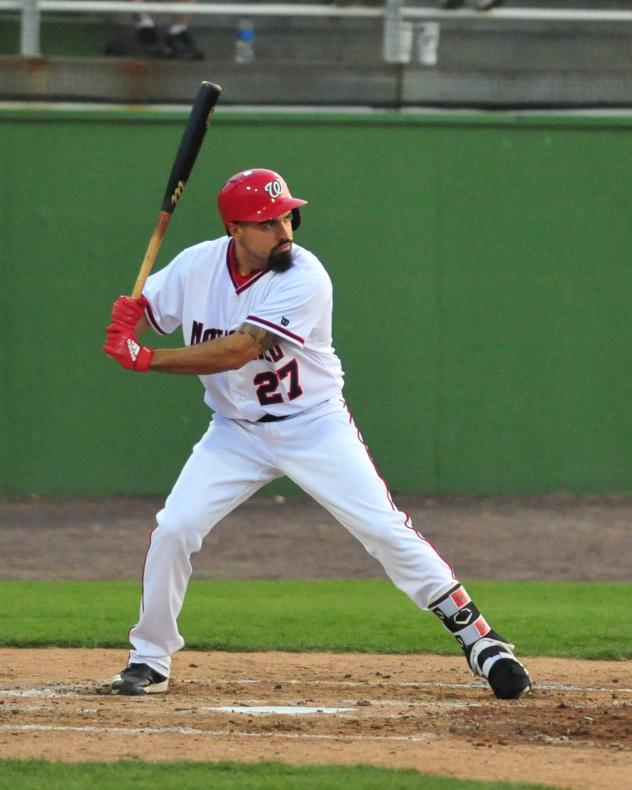 Anthony Rendon at bat with the Potomac Nationals