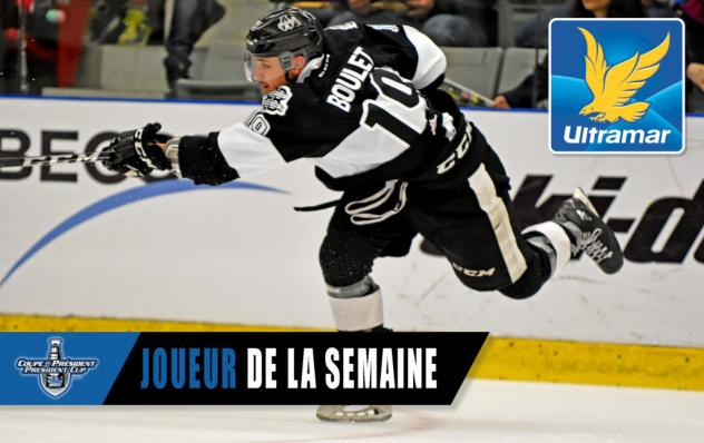 Alex Barre-Boulet of the Blainville-Boisbriand Armada