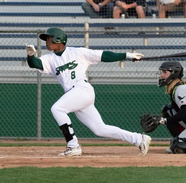 Lazaro Armenteros of the Beloit Snappers