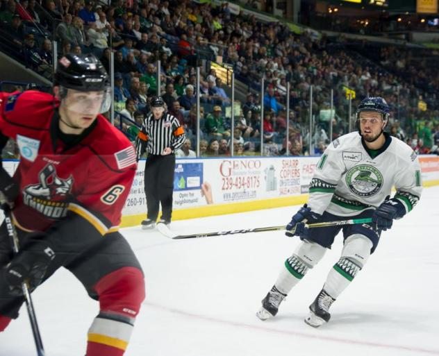 Florida Everblades vs. the Adirondack Thunder