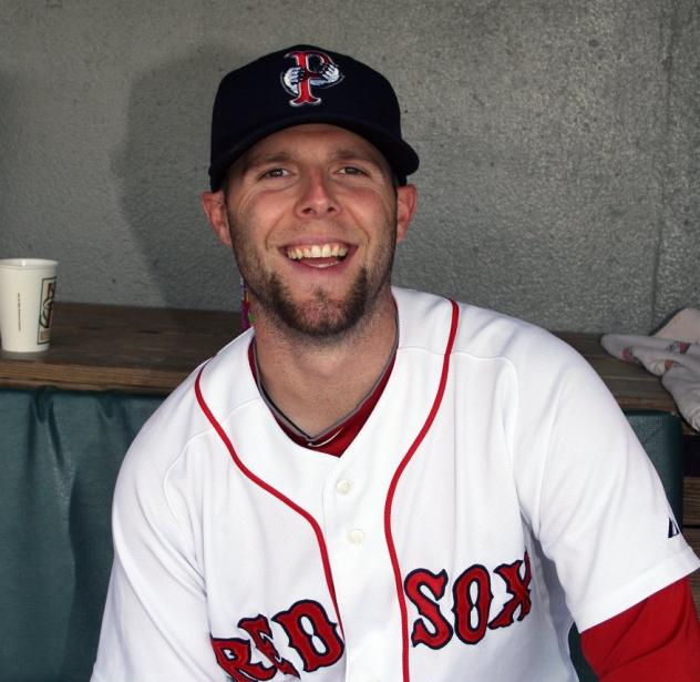 Dustin Pedroia with the Pawtucket Red Sox
