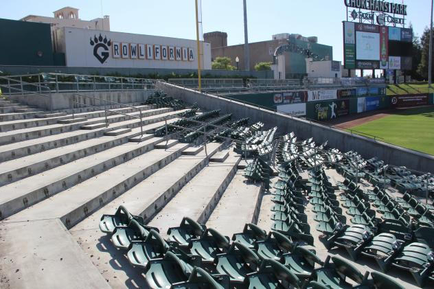 Chukchansi Park Left Field Project