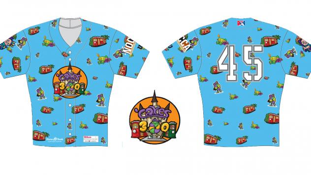 New Orleans Baby Cakes Tricentennial jerseys