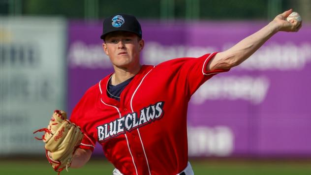 Lakewood BlueClaws pitcher David Parkinson
