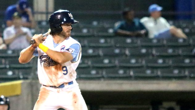 Connor Myers of the Myrtle Beach Pelicans