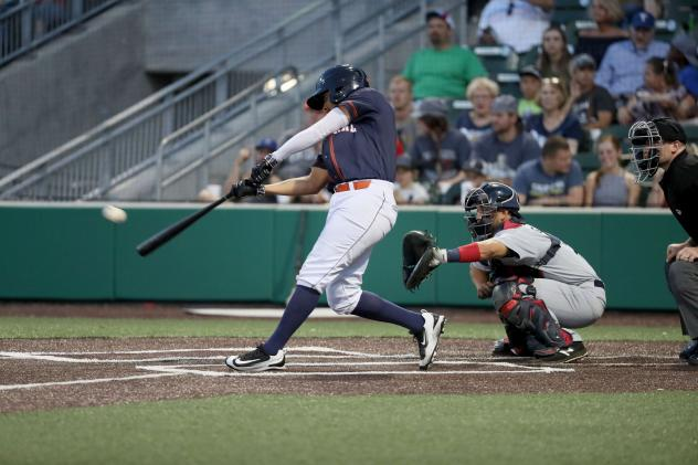 Alex Polston of the Cleburne Railroaders