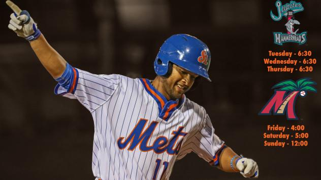 St. Lucie Mets in action