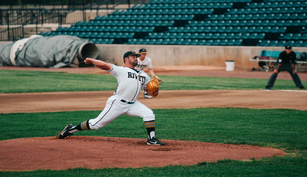 Rockford Rivets pitcher Cole Bellair