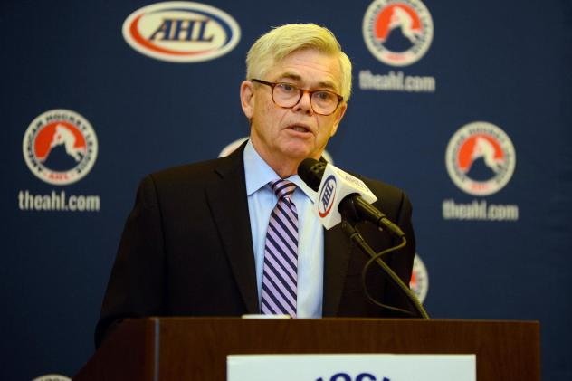 American Hockey League President & CEO David Andrews