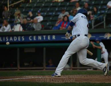 Mike Montville of the Rockland Boulders