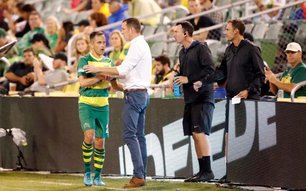 Joe Cole of the Tampa Bay Rowdies