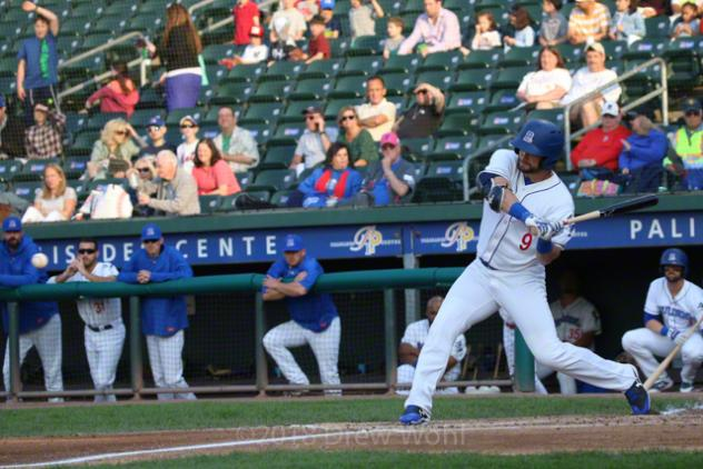 Conrad Gregor of the Rockland Boulders