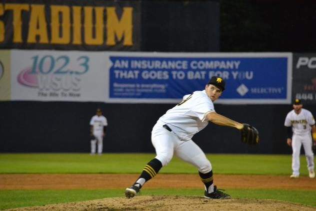 Sussex County Miners on the mound