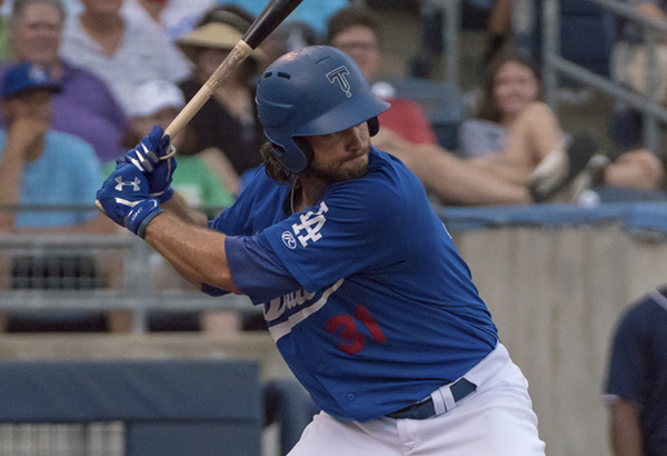 D.J. Peters of the Tulsa Drillers