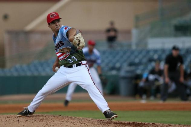 Florida Fire Frogs pitcher Troy Bacon