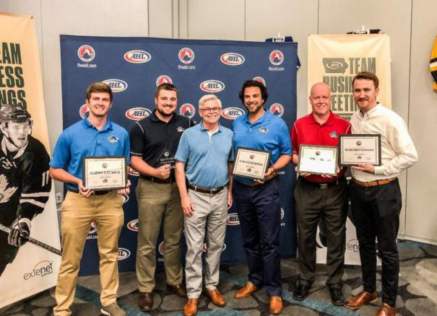 Thunderbirds Take Home Multiple Awards at AHL Marketing Meetings