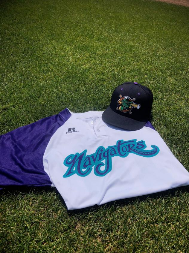 Norwich Navigators jersey and cap