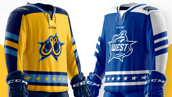 Toledo Walleye All-Star Jerseys