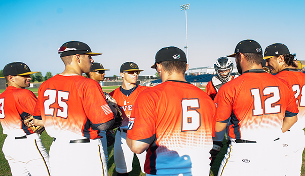 Rockford Rivets huddle