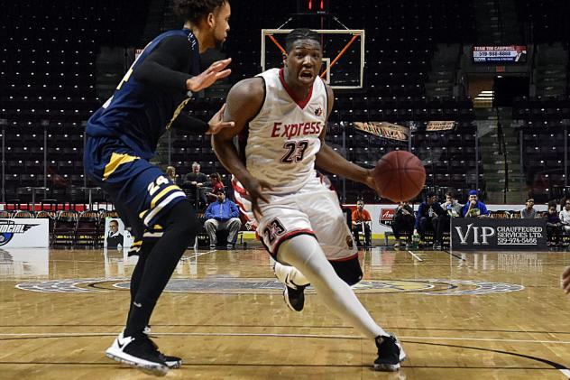 Windsor Express guard Shaquille Keith