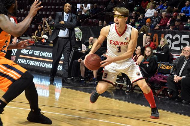 Windsor Express forward Logan Stutz