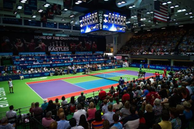Kastles Stadium at the Smith Center, home of the Washington Kastles