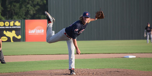 Acadiana Cane Cutters pitcher Matthew Beck