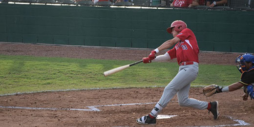 Acadiana Cane Cutters at the plate