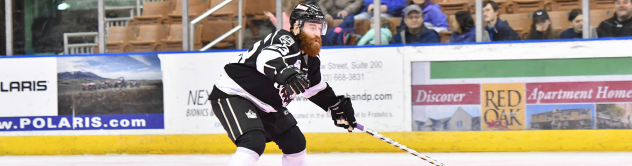 Colton Saucerman of the Manchester Monarchs