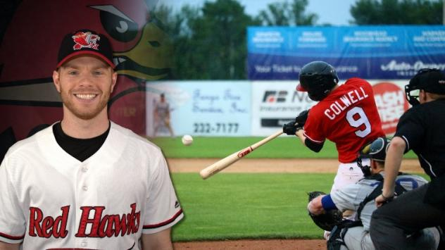 Tim Colwell of the Fargo-Moorhead RedHawks