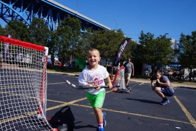 Cleveland Monsters' 'Grow the Game' Summer Street Hockey Clinic