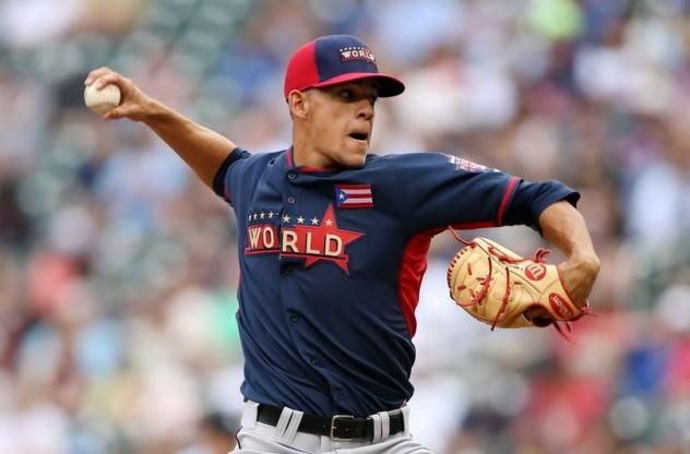 Former Chattanooga Lookout Jose Berrios
