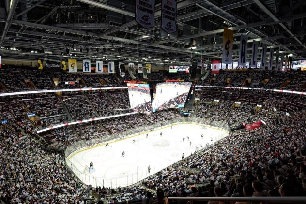 Quicken Loans Arena, home of the Cleveland Monsters