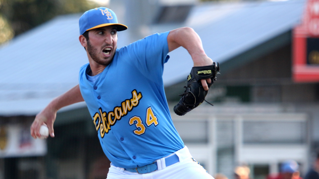 Myrtle Beach Pelicans pitcher Rollie Lacy