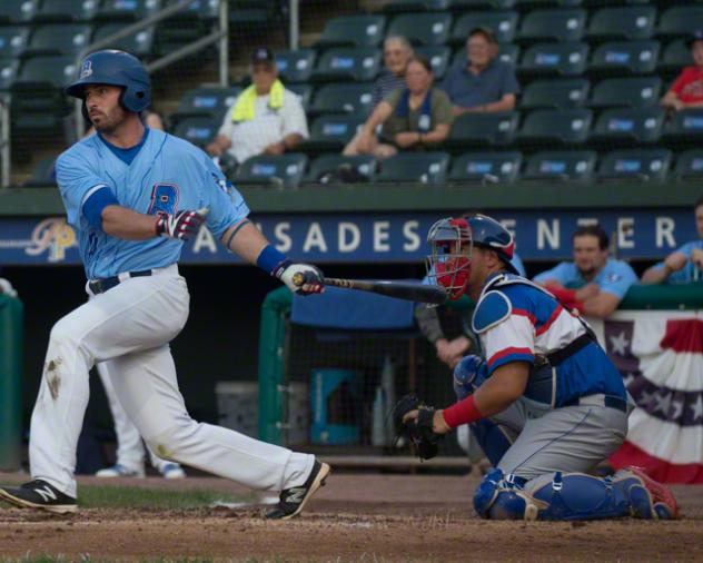 Kevin Krause of the Rockland Boulders
