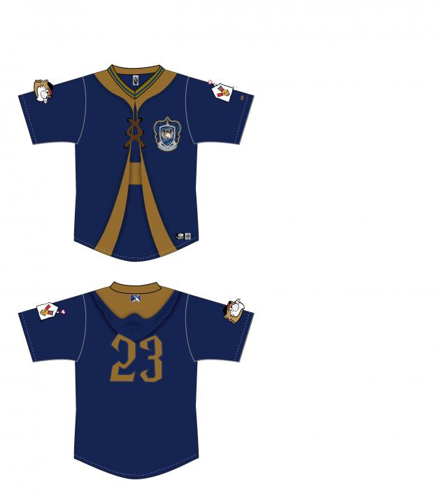 Tri-City ValleyCats Harry Potter jerseys
