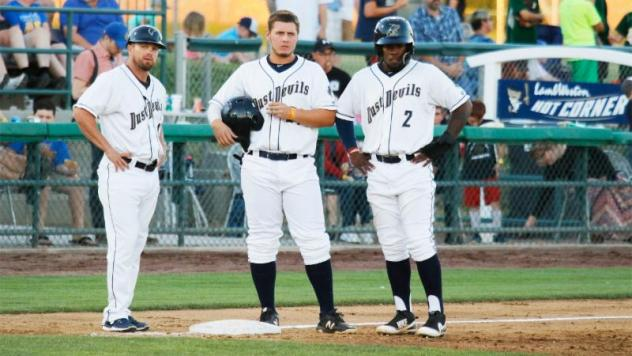Tri-City Dust Devils assess the situation