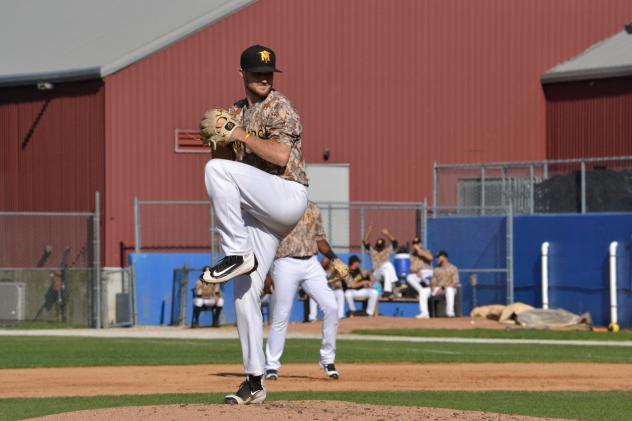 Sussex County Miners pitcher Andrew Vinson