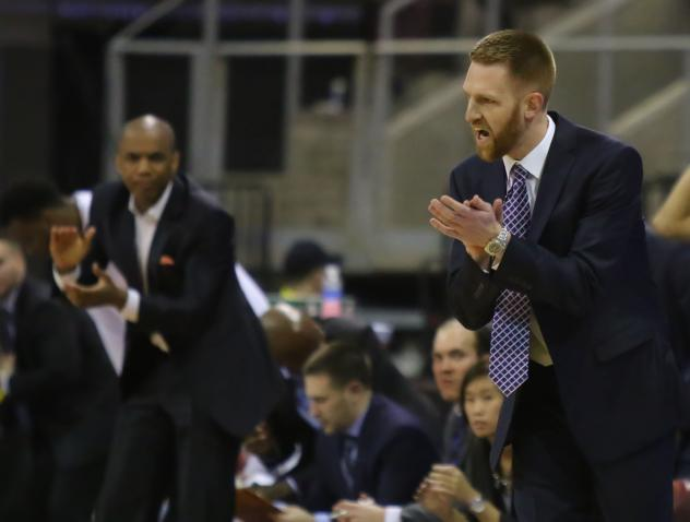 New Northern Arizona Suns head coach Bret Burchard