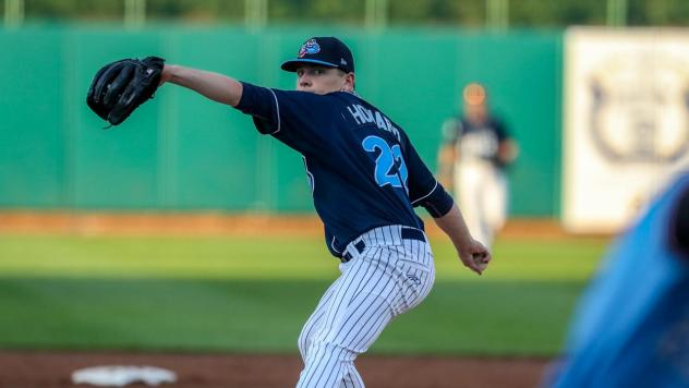 Lakewood BlueClaws pitcher Spencer Howard