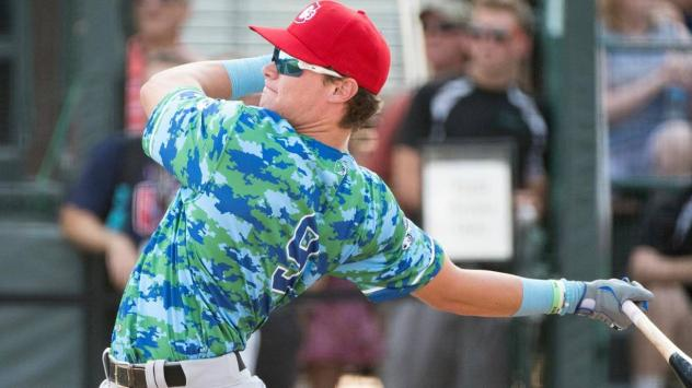 Vancouver Canadians outfielder Griffin Conine as a Northwest League All-Star
