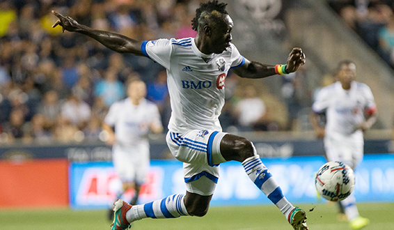 Dominic Oduro with the Montreal Impact