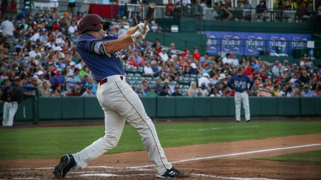 Preston Beck of the Frisco RoughRiders