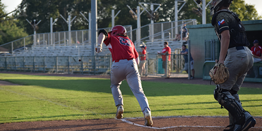 Acadiana Cane Cutters run to first