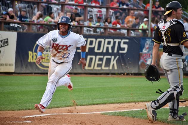 Ricardo Sanches comes in to score for the St. Cloud Rox