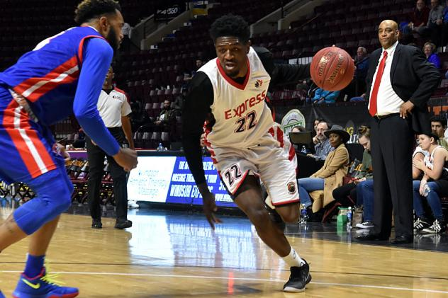 Anthony Ottley, Jr. of the Windsor Express