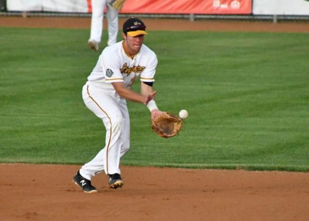 Willmar Stingers field a ball in the infield