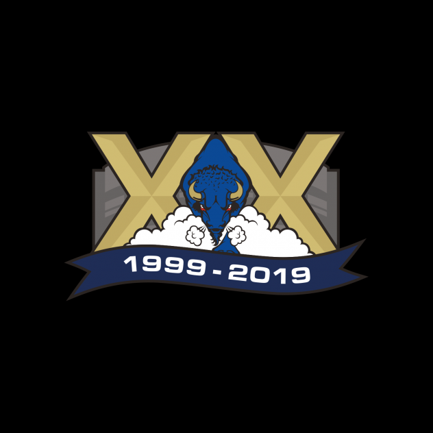 Sioux Falls Stampede's 20th Anniversary Logo