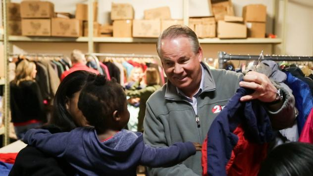 WDTN-TV and Dayton's CW: Providing Coats to Those in Need