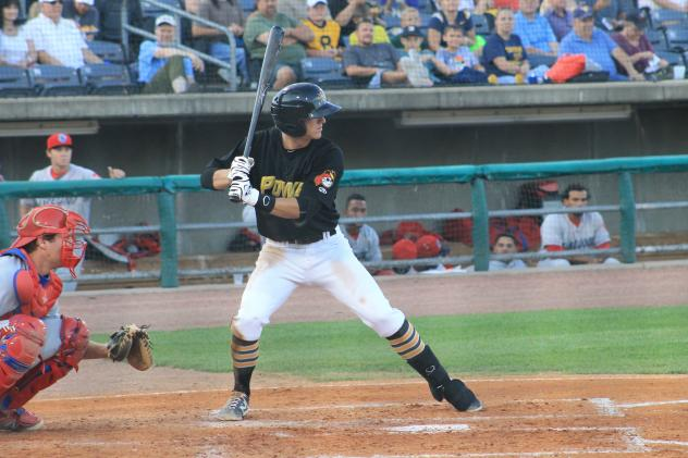 INF Kevin Newman with the West Virginia Power in 2015